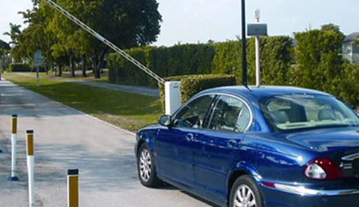 Low cost simple UHF automatic parking management